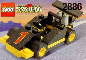 lego 2886 formule 1 racewagen. Black Bedroom Furniture Sets. Home Design Ideas