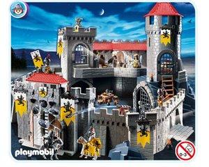 Playmobil 4865 grote kasteel van de leeuwenridders for 4865 playmobil