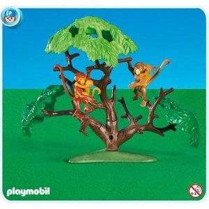 Wonderbaar Playmobil 7897 Apenfamilie met boom XY-58